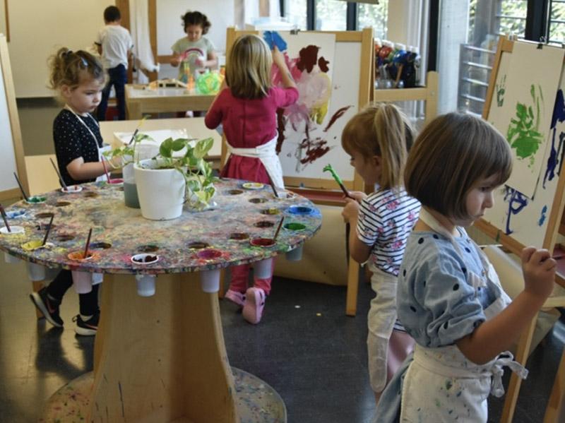 Escola Solc Barcelona - Taller de pintura