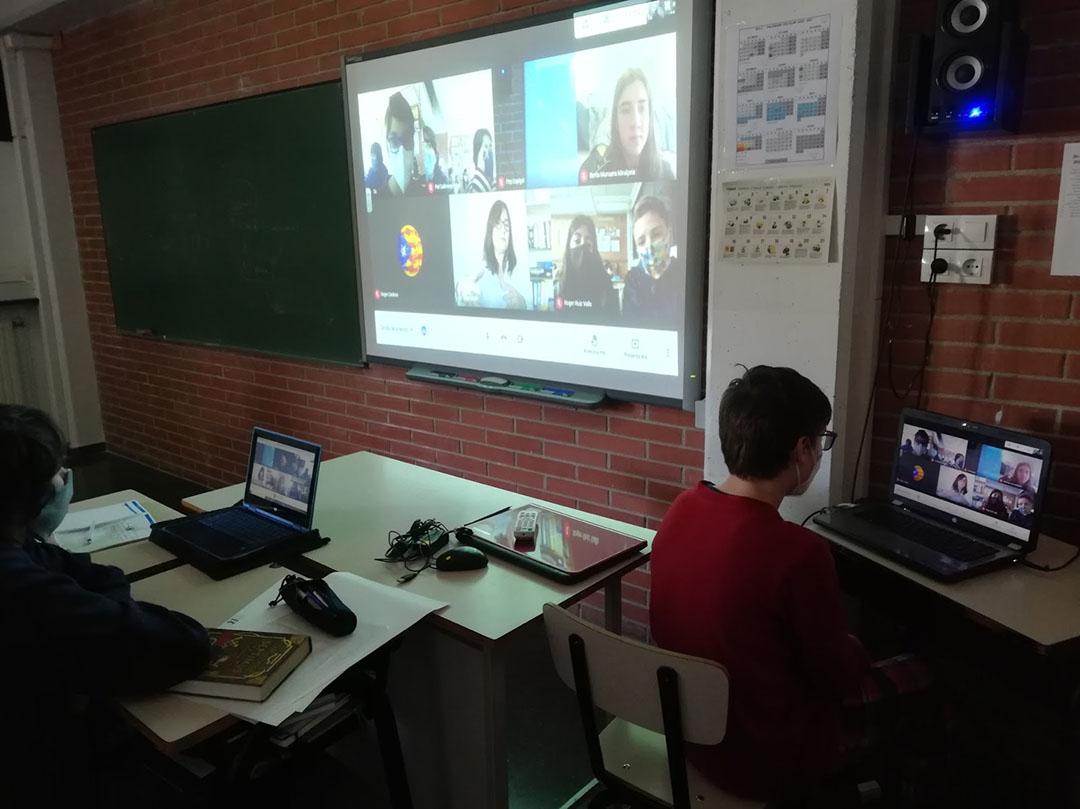 Escola Solc Barcelona. Dia de la dona i la ciència. 6è de primària i 1r d'ESO.